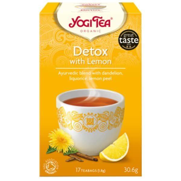 детокс лимон